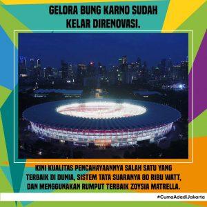 GBK untuk Asian Games 2018