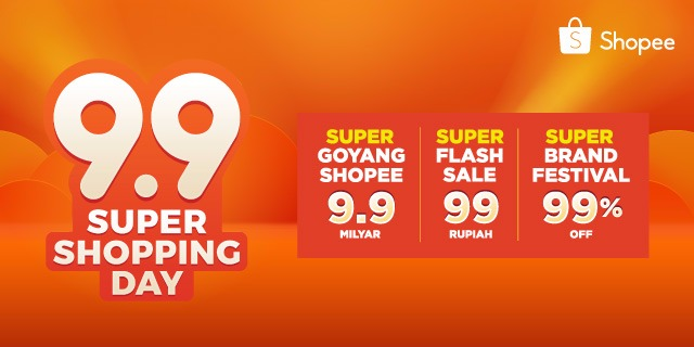 Keseruan Shopee 9.9 Super Shopping Day